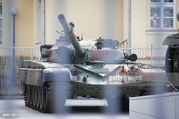 March 2016 An old Soviet T72 battle tank is seen at the military museum Poland has signed a deal with German Rheinmetall Landsysteme GmbH worth €130...