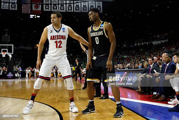 F Ryan Anderson of the Arizona Wildcats guards F Rashard Kelly of the Wichita State Shockers The Wichita State Shockers defeated the Arizona Wildcats...