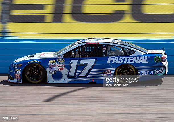Sprint Cup Series driver Ricky Stenhouse Jr. During the 12th annual Good Sam 500 NASCAR Sprint Cup Series race at Phoenix International Raceway in...