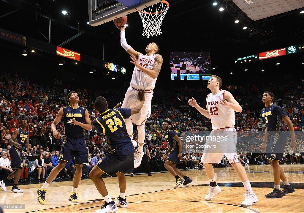 NCAA BASKETBALL: MAR 11 PAC-12 Tournament - Cal v Utah : News Photo