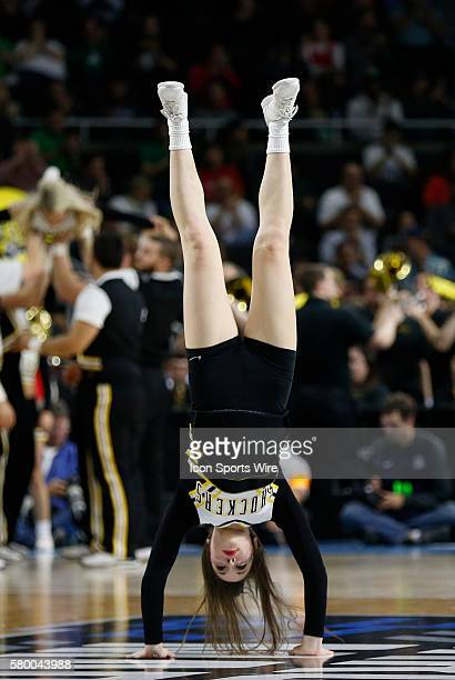 Wichita State Shockers cheerleader vaults The Wichita State Shockers defeated the Arizona Wildcats 6555 in the first round of the NCAA Division 1...