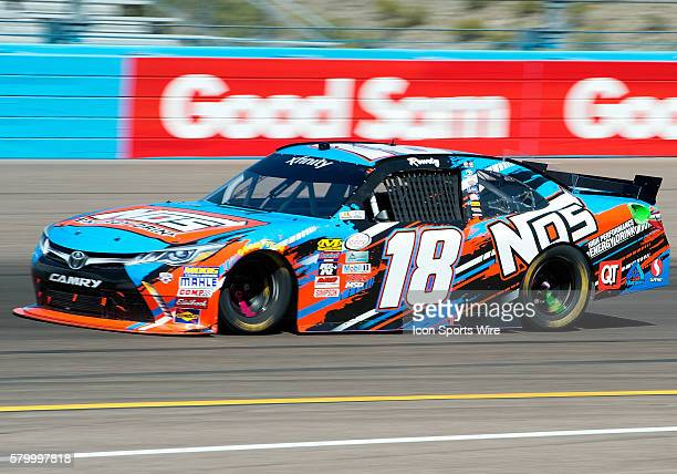 Xfinity Series driver Kyle Busch during NASCAR's Axalta Faster. Tougher. Brighter. 200 Xfinity Series race at the Phoenix International Raceway in...