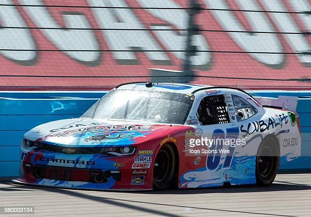 Xfinity Series driver Ray Black Jr. During NASCAR's Axalta Faster. Tougher. Brighter. 200 Xfinity Series race at the Phoenix International Raceway in...