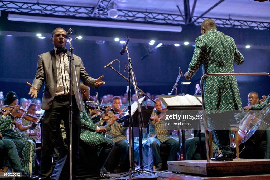 Single Symphony Orchestra : News Photo