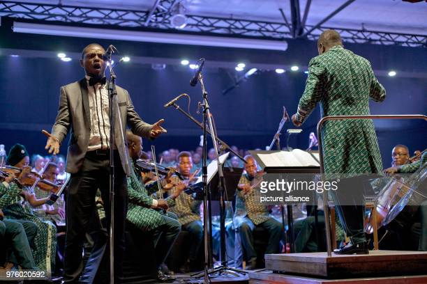 Musicians of the Orchester Symphonique Kimbanguiste de Kinshasa at a performance The majority of today's orchestra members began their careers as an...