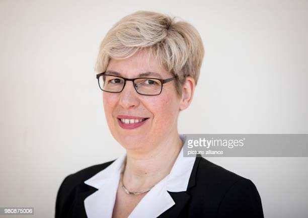 March 2018, Germany, Berlin: Heike Paul, prize winner of the Gottfried Wilhelm Leibniz Prize 2018. Photo: Kay Nietfeld/dpa