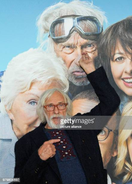 The French actor Pierre Richard at the photocall of her film 'Die Sch'tis in Paris' The comedy will be shown in German cinemas from 22 March 2018...