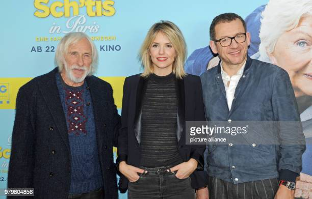 The French actors Pierre Richard Laurence Arne and Dany Boon at the photocall of her film 'Die Sch'tis in Paris' The comedy will be shown in German...