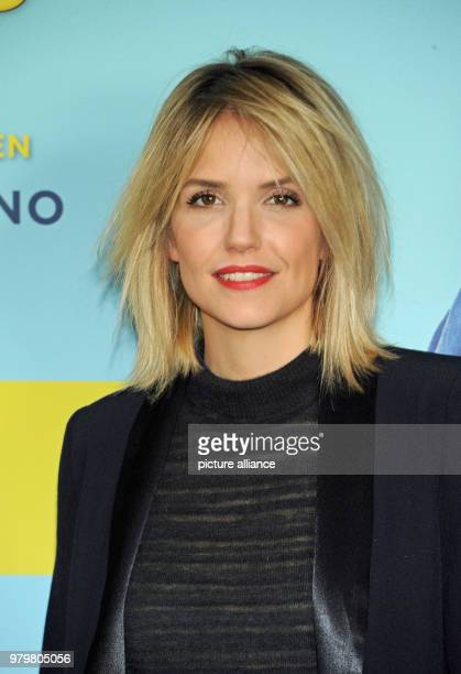 The French actress Laurence Arne at the photocall of her film 'Die Sch'tis in Paris' The comedy will be shown in German cinemas from 22 March 2018...