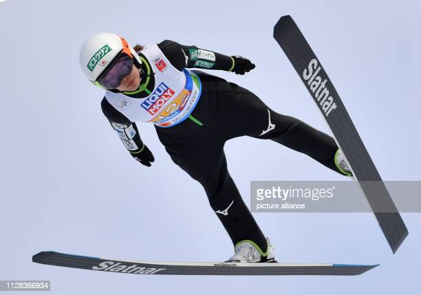 Nordic skiing World championship ski jumping team jumping mixed Sara Takanashi from Japan in action Photo Hendrik Schmidt/dpaZentralbild/dpa