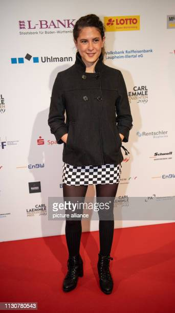 15 March 2019 BadenWuerttemberg Laupheim Amanda Da Gloria actress is on the red carpet at the Carl Laemmle Producer Award Laupheim is the home of...