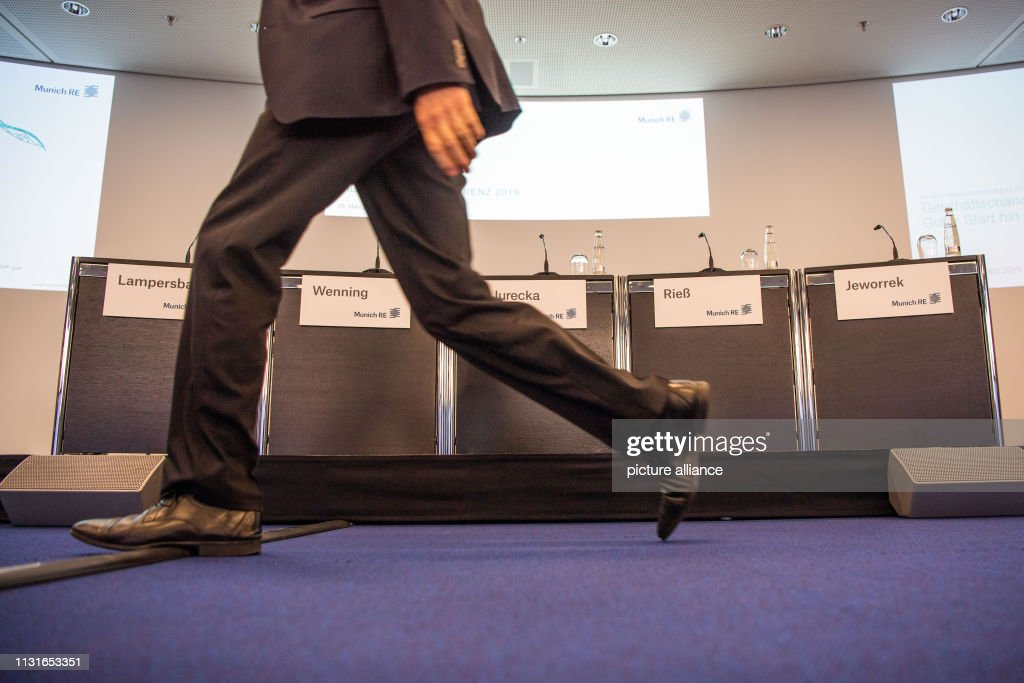 DEU: Munich Re Annual Balance Conference