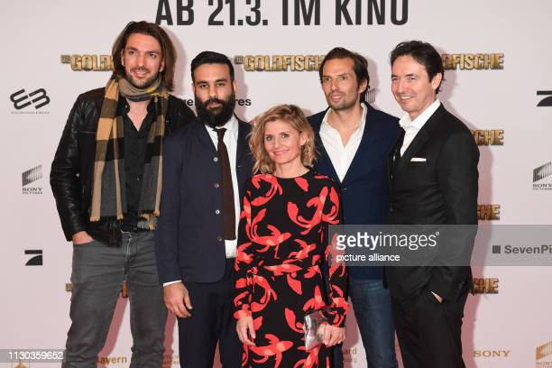 Producer Max Wiedemann director and scriptwriter Alireza Golafshan producer Justyna Muesch producer Quirin Berg and managing director Sony Pictures...