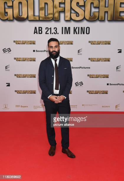 The director and scriptwriter Alireza Golafshan comes to the world premiere of the comedy 'The Goldfish' in the Mathäser cinema Photo Felix...