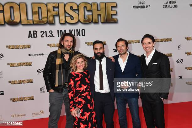 The producer Max Wiedemann the producer Justyna Muesch the director and scriptwriter Alireza Golafshan the producer Quirin Berg and the managing...