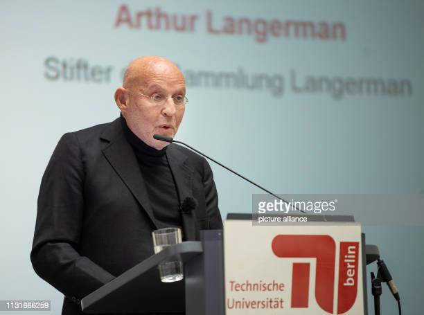 Arthur Langerman founder of the Langerman Collection will speak on the occasion of the transfer of the archive for research on visual antiSemitism to...