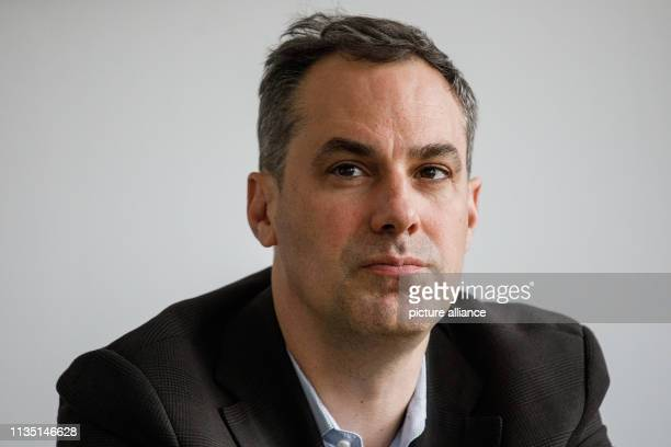 March 2019, Berlin: Cedrik Neike, member of the Managing Board of Siemens AG, takes part in a briefing during a visit to Siemens AG - Software and...