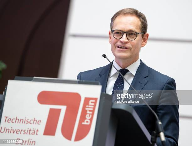 Michael Müller Governing Mayor of Berlin speaks on the occasion of the transfer of the Arthur Langerman Archive for the Study of Visual AntiSemitism...