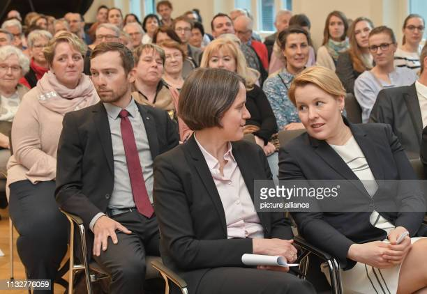 25 March 2019 Brandenburg Frankfurt Julia von Blumenthal President of the European University Viadrina and Franziska Giffey Federal Minister for...