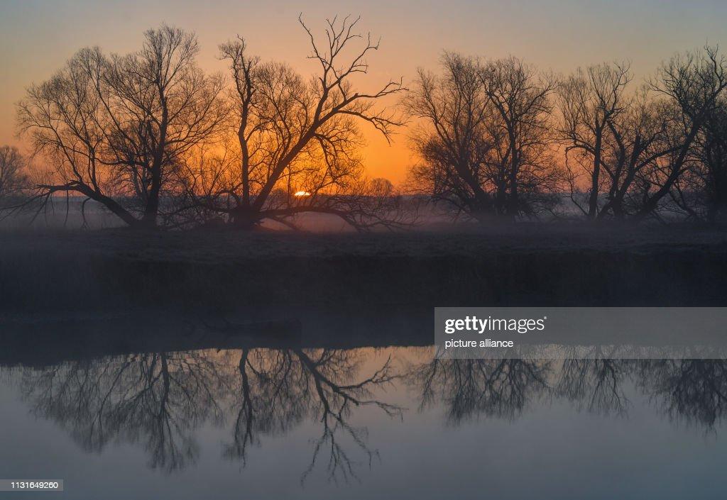 DEU: Sunrise At The River Oder