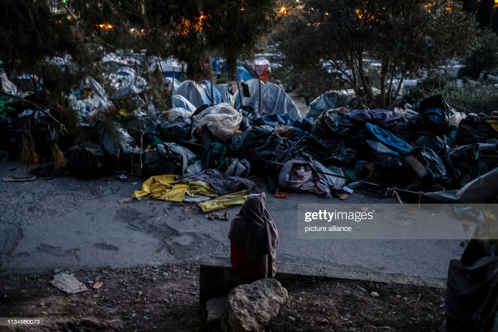Refugees on Samos : News Photo