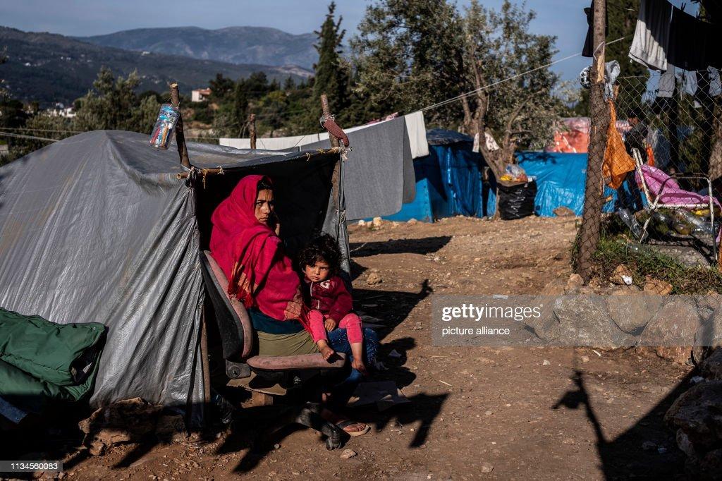Refugees on Samos : News Photo