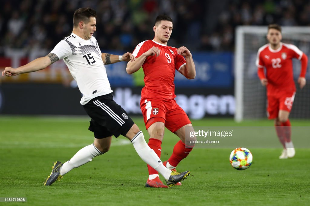 Germany - Serbia : News Photo