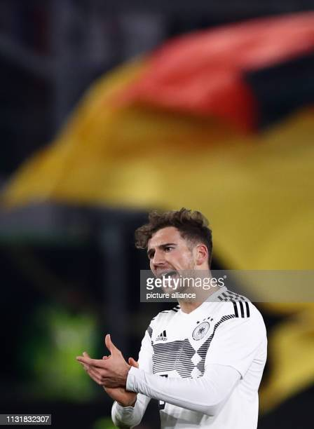Soccer International match Germany Serbia in the Volkswagen Arena Germany's Leon Goretzka IMPORTANT NOTE In accordance with the requirements of the...