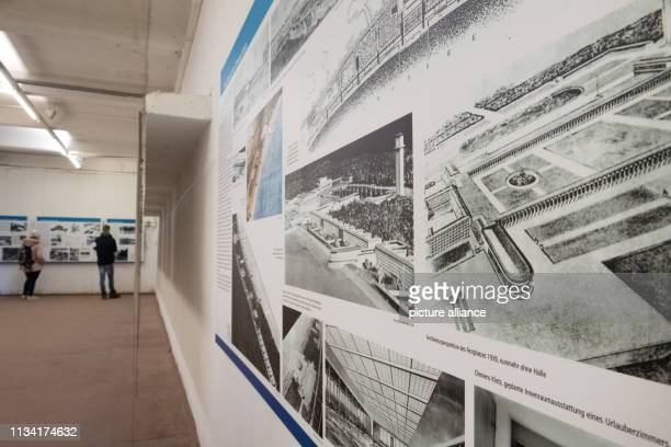 March 2019, Mecklenburg-Western Pomerania, Prora: View into the exhibition of the Documentation Centre Prora on the premises of the KdF-sea resort...