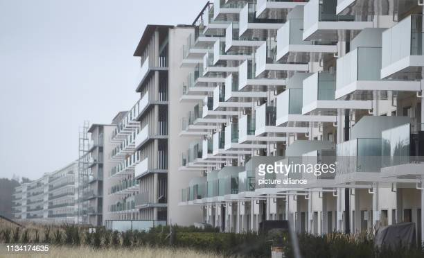 27 March 2019 MecklenburgWestern Pomerania Prora View of block 1 in the listed complex Prora Prora is on its way to becoming a tourist oasis of...
