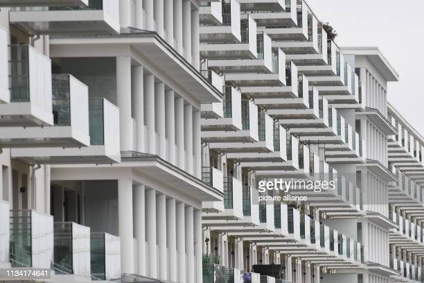 March 2019, Mecklenburg-Western Pomerania, Prora: View of block 1 in the listed complex Prora. Prora is on its way to becoming a tourist oasis of...
