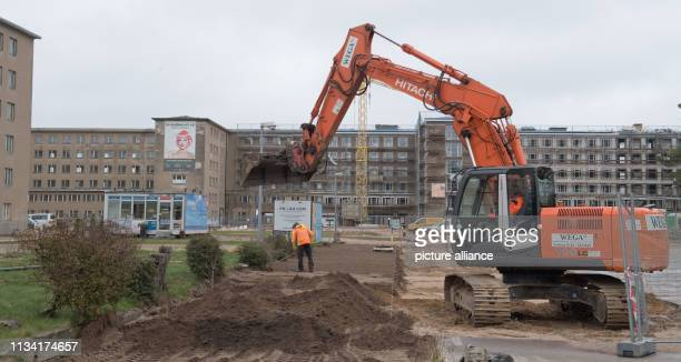 27 March 2019 MecklenburgWestern Pomerania Prora View of block 3 in the listed complex Prora Prora is on its way to becoming a tourist oasis of...