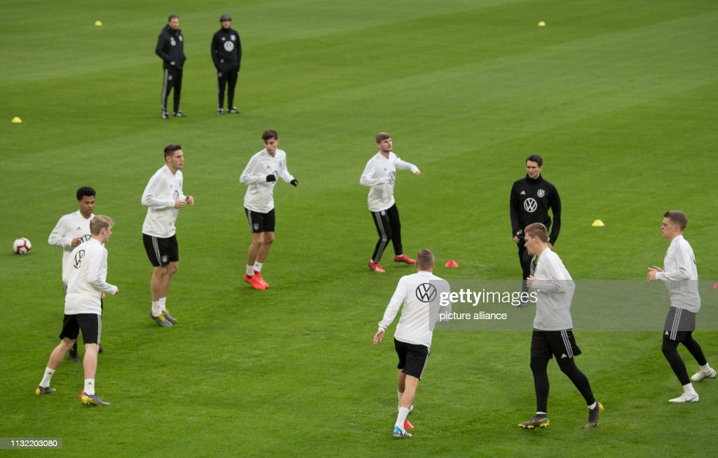 NLD: German National Soccer Team: Final Training