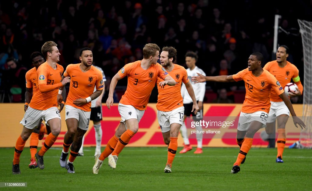 NLD: European Championship Qualification: Netherlands VS Germany