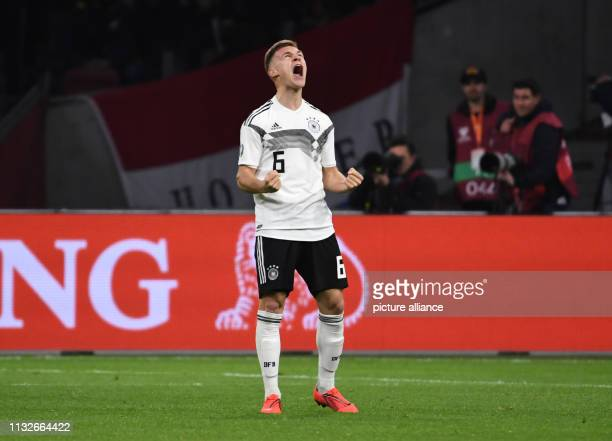 Soccer European Championship qualification Netherlands Germany Group stage Group C 2nd matchday in the Johan Cruijff ArenA Joshua Kimmich from...