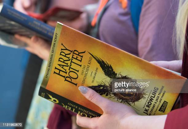 Books from the fantasy novel series Harry Potter will be read at Carlsen's stand at the Leipzig Book Fair The Book Fair will continue until Photo...