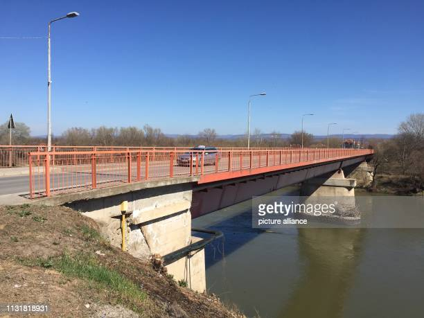 The rebuilt bridge in the village over the Morava 20 years ago German soldiers were fighting again for the first time since the Second World War On...