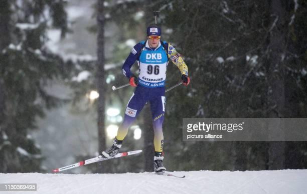Biathlon World Championship singles 20 km men Vitaliy Trush from Ukraine in action Photo Sven Hoppe/dpa