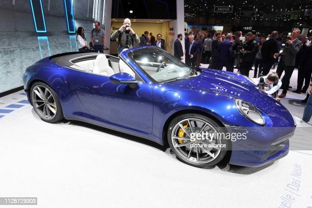 The new Porsche 911 Carrera 4S Cabriolet will be presented at the Geneva Motor Show on the first press day The 89th Geneva Motor Show starts on 7...