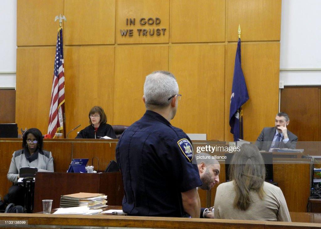 Suspected con artist Anna Sorokin in court : News Photo