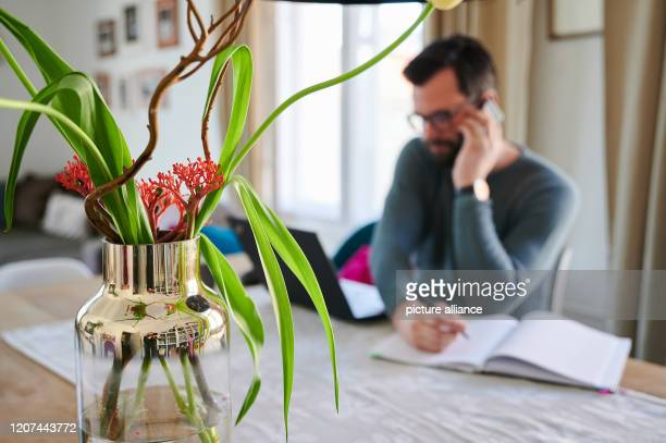 Business lawyer Andre is now working from home During the corona crisis many people are forced to work from home Either because of protective...