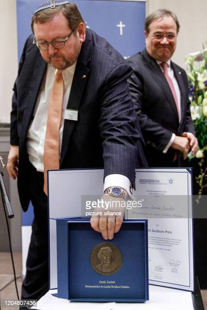 March 2020, Berlin: Rabbi Walter Homolka , chairman of the Union of Progressive Jews in Germany and professor, is standing at the Israel Jacobsen...