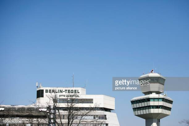 """March 2020, Berlin: There is little activity at the """"Otto Lilienthal"""" airport in Tegel. The Berlin Senate is considering temporarily closing Tegel..."""