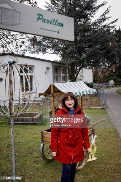 March 2020, Berlin: Yasmin Mosler-Kolbe, director of the August-Heyn-Gartenarbeitsschule, is standing on the school grounds. Berlin's oldest...