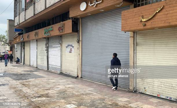 The Tajrish bazaar is deserted The popular bazaar in Nordteheran had to be closed due to the Corona crisis in the country Especially during the...
