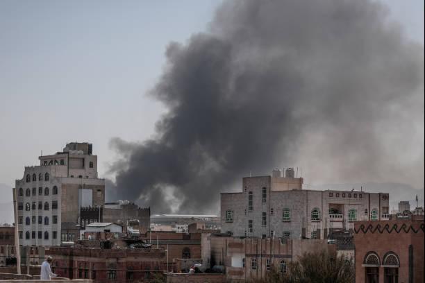 YEM: Saudi-Led Airstrikes In Yemen