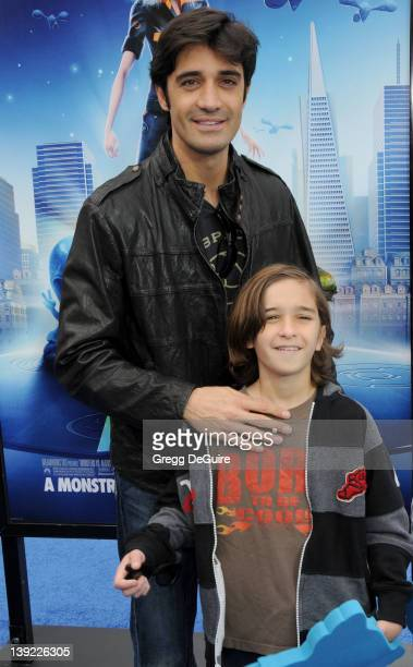 March 22 2009 Universal City Ca Gilles Marini and son Georges Monsters vs Aliens Los Angeles Premiere Held at the Gibson Amphitheatre
