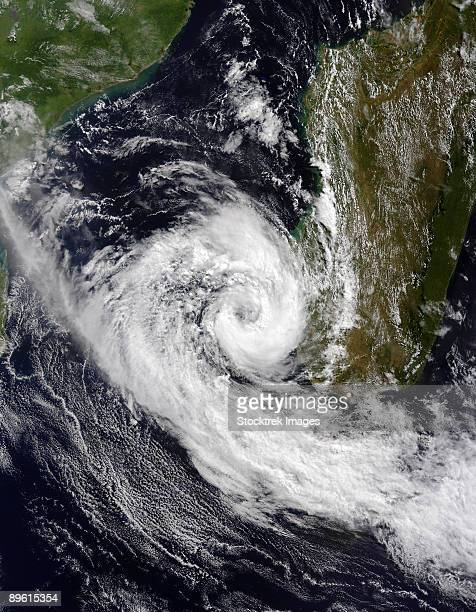 March 25, 2009 - Tropical Cyclone Izilda in the Mozambique Channel.