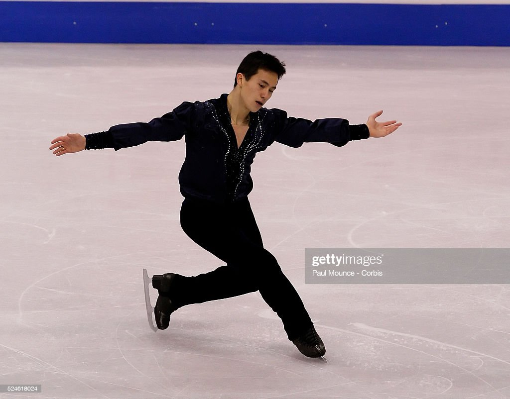 March 26, 2009, Los Angeles, California, United States - - - Skater Patrick CHAN (CAN) during the Men's Free Skate Program at the 2009 World Figure Skating Championships held at the Staples Center.
