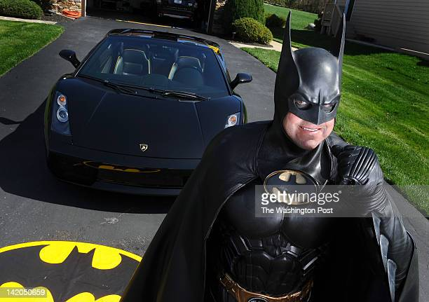 Leonard Robinson is known as batman to children in area hospitals where he visits and hands out batman hats shirts backpacks and other things to...
